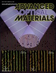 Back cover of March 2018 issue of Advanced Optical Materials