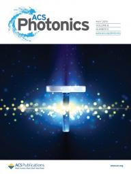 Cover of May 2019 issue of ACS Photonics